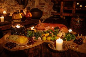 Mittelalterliches Mahl