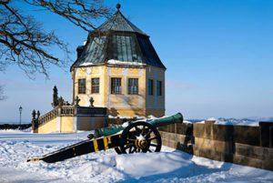 Winter auf Festung Königstein