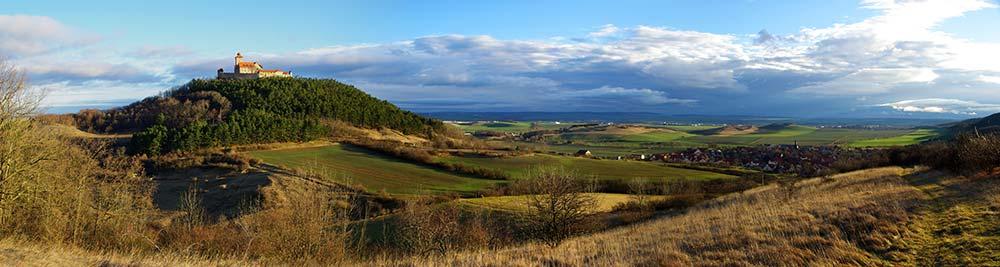 Panorama von Veste Wachsenburg